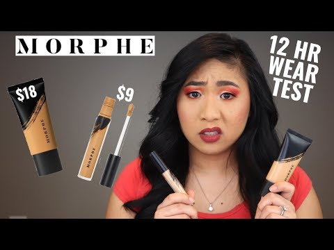 Morphe Fluidity Foundation & Concealer For Oily Skin | Review & Wear Test