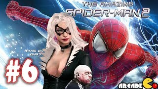 The Amazing Spider Man 2 - Movie Game (Aleksei Sytsevich) Boss Fight (1080P) - Part 6 (iOS)