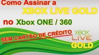 Como Assinar a Xbox LIVE GOLD Sem Cartão de Crédito
