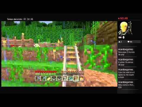 Minecraft 100% Survival: Building a Fully Auto Wheat, Carrot and Potato Farm