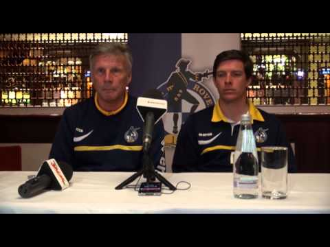 John Ward and Darrell Clarke on their new roles