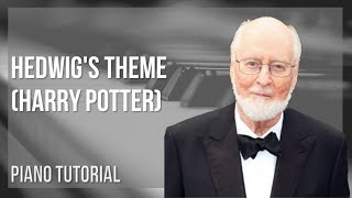 EASY Piano Tutorial: How to play Hedwig's Theme (Harry Potter) by John Williams