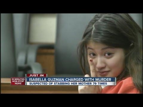 Isabella Guzman charged in mother's murder