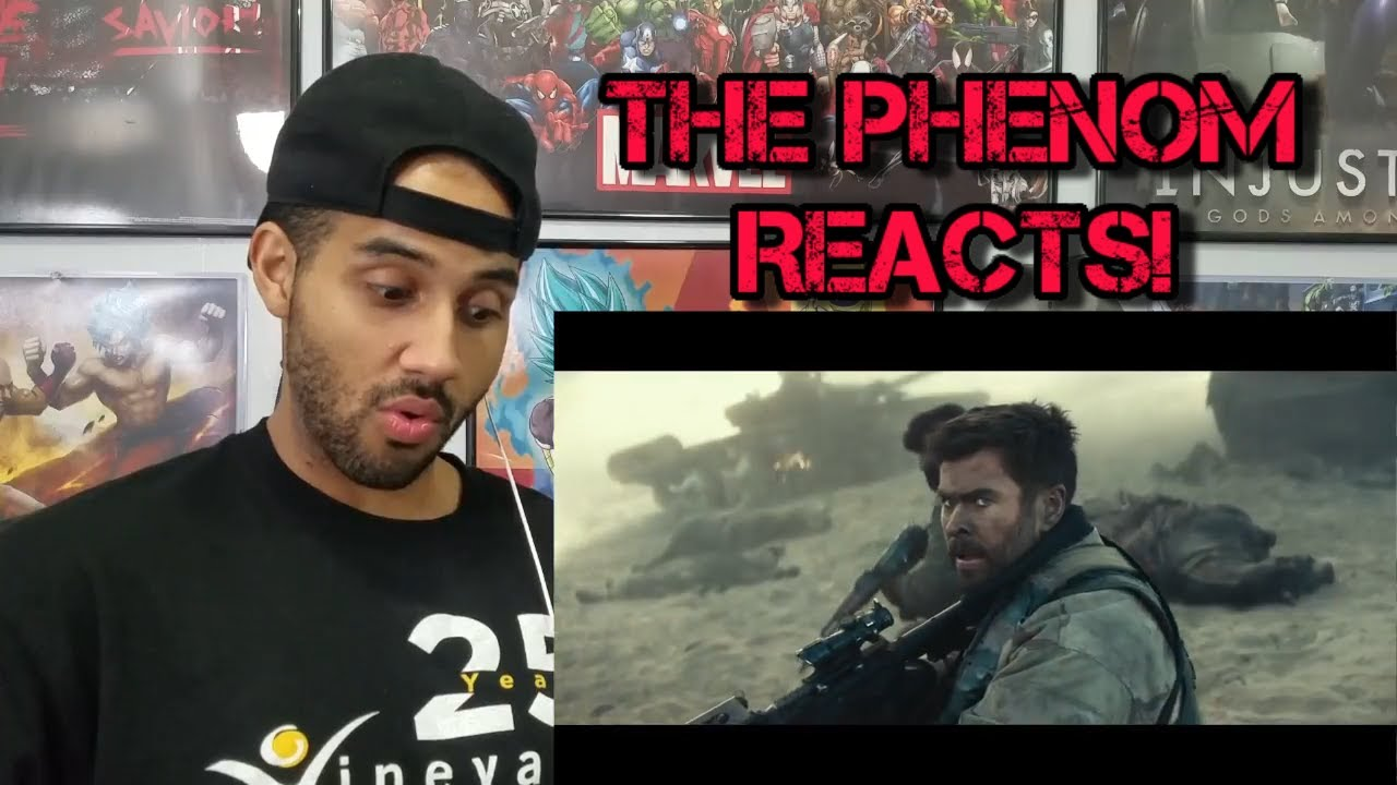 Download 12 STRONG - Official Trailer REACTION!!!!!