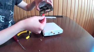 how to insert sim card in MikroTik BaseBox2 RouterBOARD