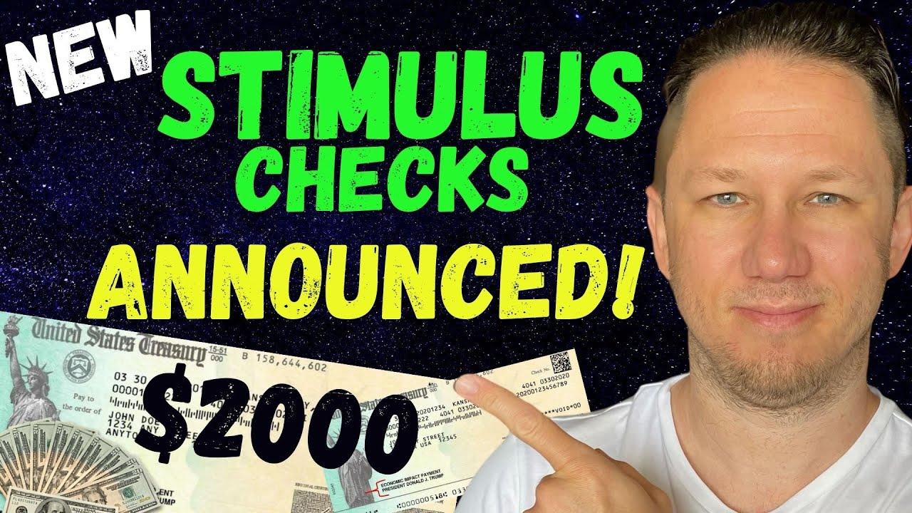 Download WOW! $2000 Fourth Stimulus Check & $1400 Third Stimulus Check Update!