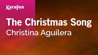 Karaoke The Christmas Song - Christina Aguilera *