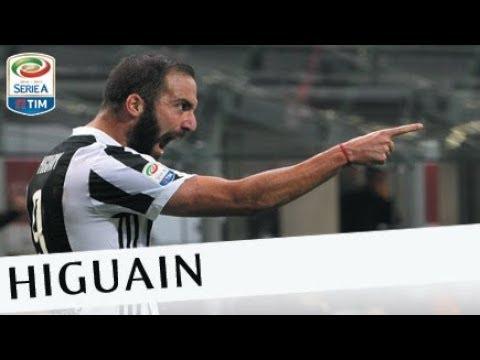 Il gol di Higuain (23) - Milan - Juventus 0-2 - Giornata 11 - Serie A TIM 2017/18