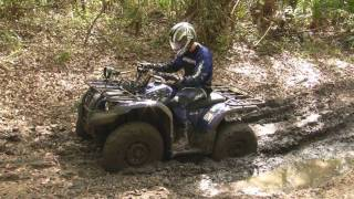 Yamaha Grizzly 450 4x4 in the Mud HD