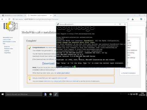 Secured MediaWiki on CentOS 7.3 - Deploy on Azure , AWS and Google Cloud Platform.