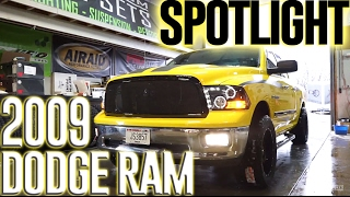 "Spotlight-2009 Dodge Ram 1500, 2"" TGC Level, 20x10's, and 33's"