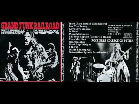GRAND FUNK RAILROAD live in Dusseldorf, Germany, 12.04.1971