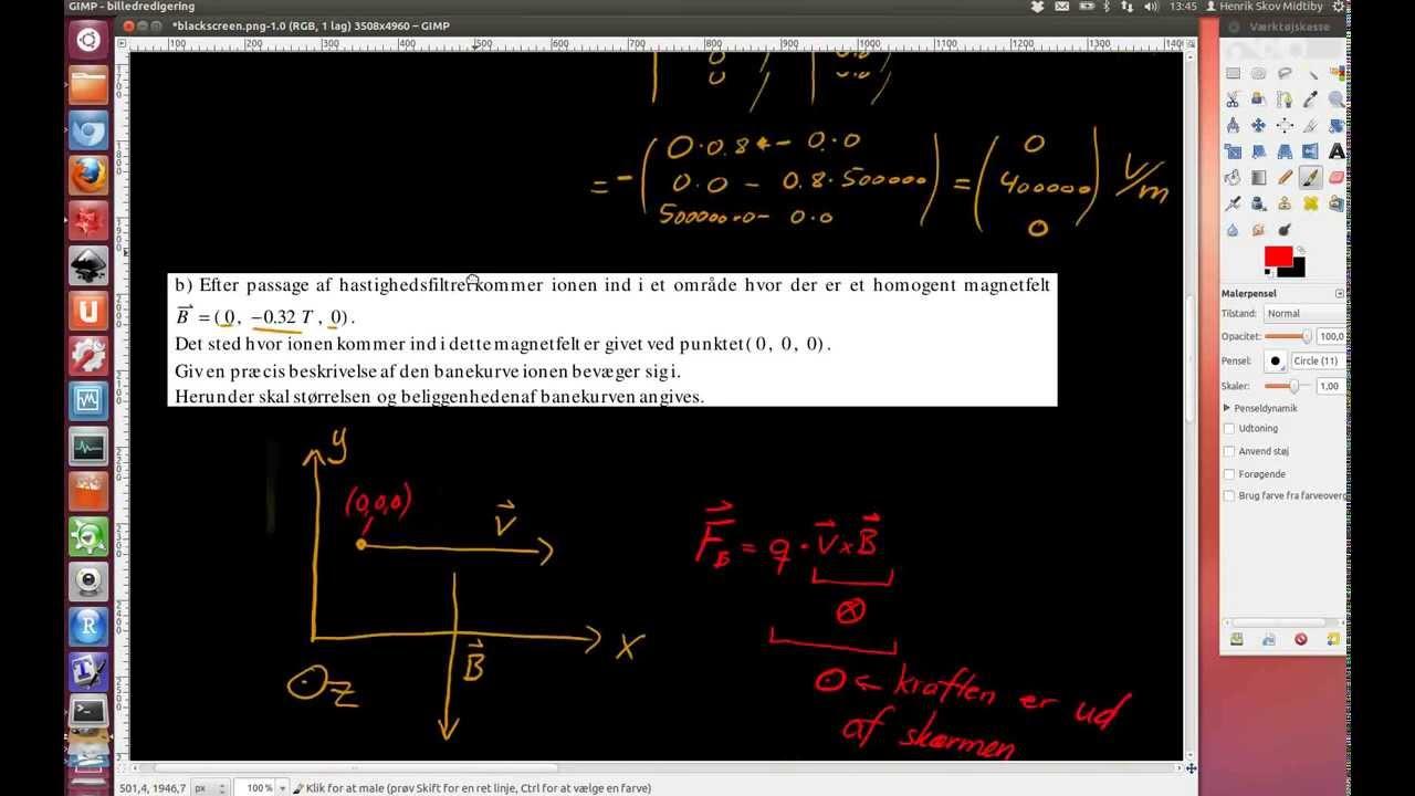 2012-06-06 Opgave 6. Negativ ladet klor ion