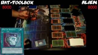 Yugioh Duel: Alien Vs Rat Tool-box - Round One
