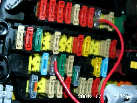 Peugeot 206 Fuse Box Diagram also Citroen Picasso Fuse Box also ODZ3n5qTOZs in addition Watch together with Peugeotboxerbipperheaterresistor. on fuse box diagram citroen xsara