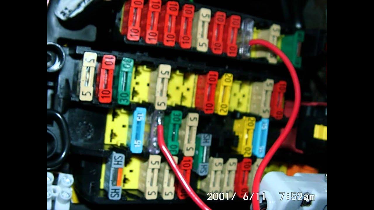 fuse box in renault clio 2004 fusibili e modifiche picasso 11 giu 2011 youtube  fusibili e modifiche picasso 11 giu 2011 youtube