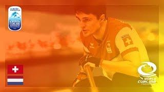 Switzerland v Netherlands - Men - Round Robin - Le Gruyère AOP European Curling Championships 2018 thumbnail