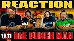 "One Punch Man 1x11 REACTION!! ""Dominator of the Whole Universe"""