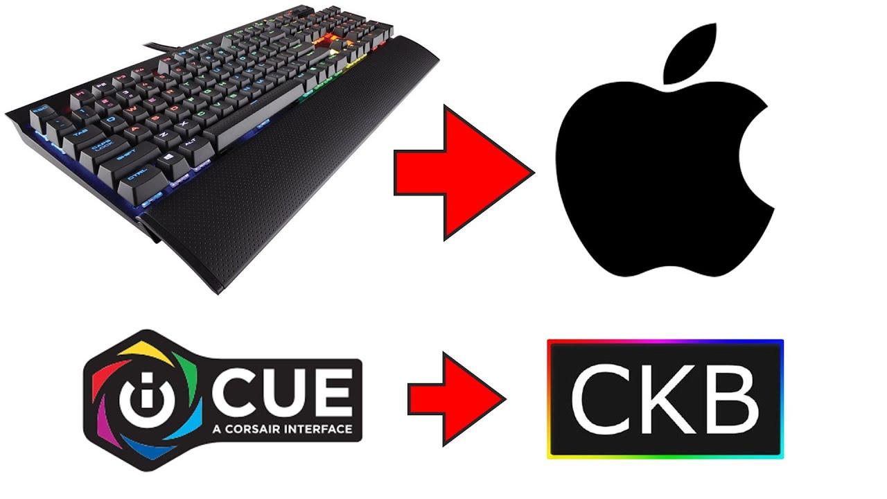 Come controllare le TASTIERE RGB CORSAIR su MAC (iCUE per MAC)