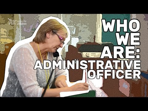 Who We Are: Administrative Officer