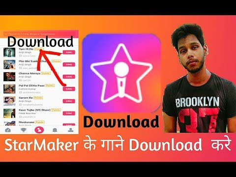How to download starmaker songs without app