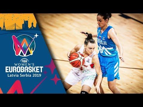 Hungary v Slovenia - Highlights - FIBA EuroBasket Women 2019