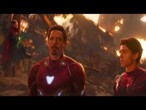 THANOS vs IRON MAN UltraHD Bluray 4K/Avengers Infinity War