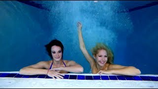 Swimming with Real Professional Mermaids