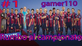 Football Heads: 2014-15 La Liga - episodio 1 - Gamer110