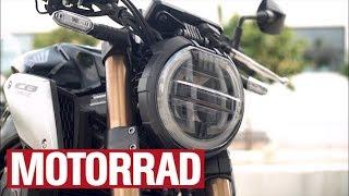 Honda CB 650 R у хвилинах звіт
