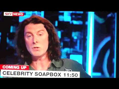 David Threlfall Frank Gallagher from Shameless  On Sky