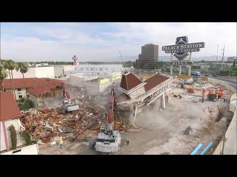 Las Vegas Demolition Palace Station
