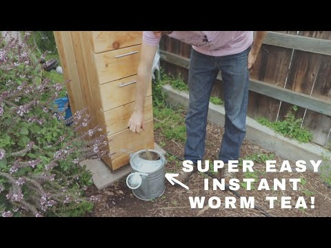 The Best Vermicompost System In The World? -  Worm Composting Made Easy!