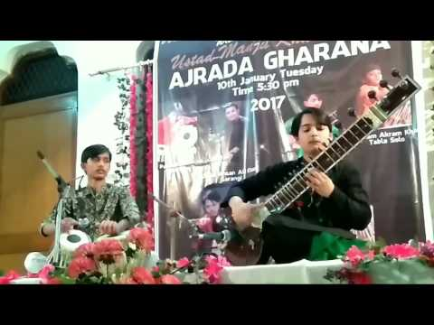 Mehtab Ali Niazi - Sitar | Khurram Ali Niazi - Tabla | Raag Rageshwari | Durut Teental