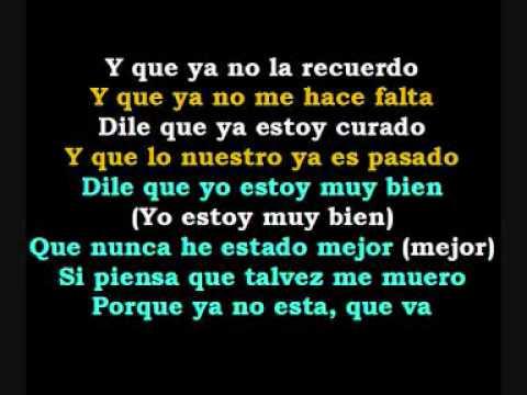 Franco De Vita & Sin Bandera - Si La Vez. (Con La Letra)...