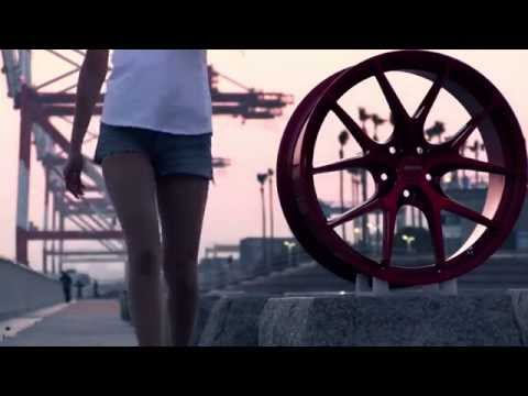 GRORA wheel Porsche Cayman & AUDI TT & Girl !!