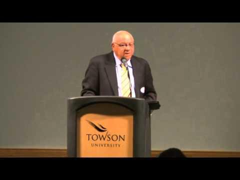 Herman Boone addresses Towson student-athletes