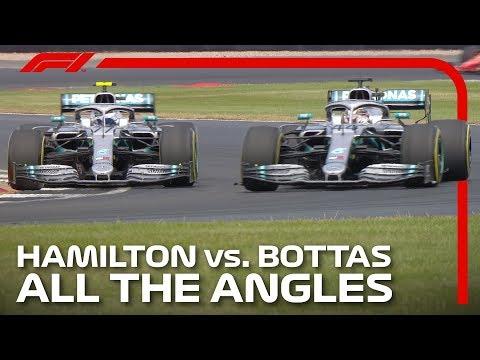 Hamilton And Bottas' Epic Silverstone Battle   2019 British Grand Prix