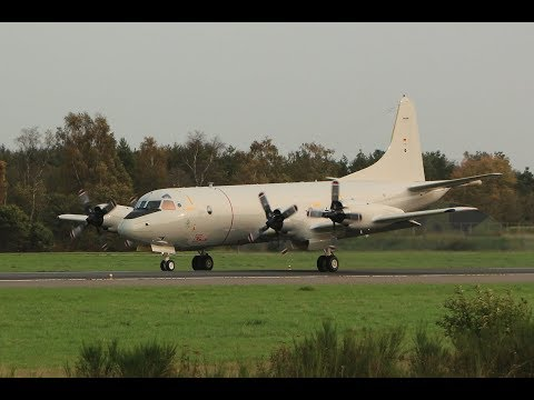 German Navy P-3C Orion Touch & Go at Wittmund Airbase (ETNT)