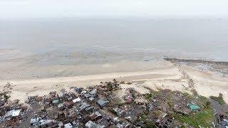 Nouvelles images de la désolation à Beira après le cyclone IDAI