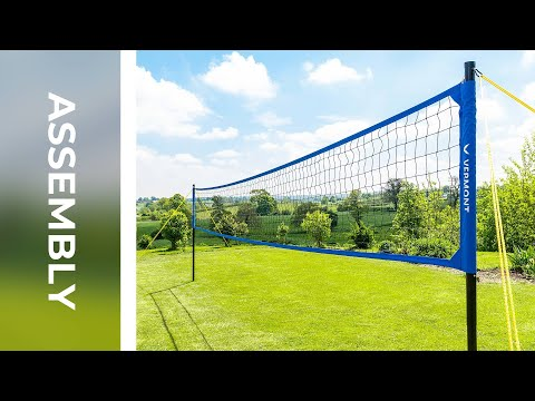 How To: Assemble The Vermont Portable Volleyball Set | Net World Sports