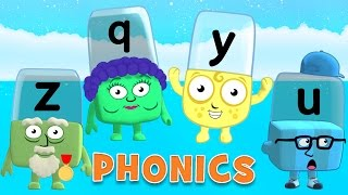 Learn to Read | Phonics for Kids | Letter Sounds - Y, Z, Q, U