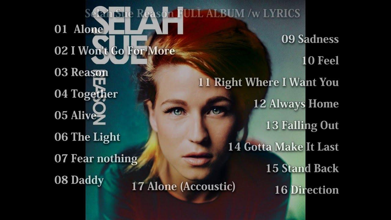 Selah Sue - Reason FULL ALBUM