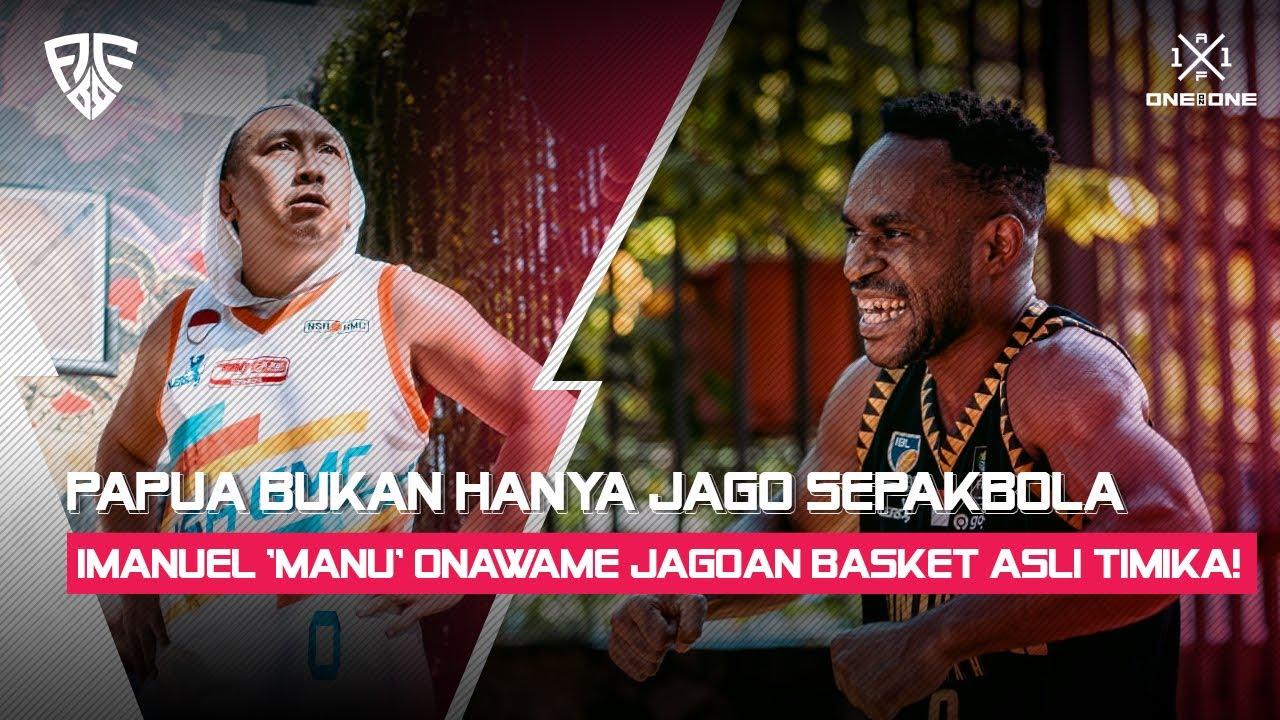 Download Papua Bukan Hanya Jago Sepakbola. Imanuel 'Manu' Onawame Jagoan Basket Asli Timika!