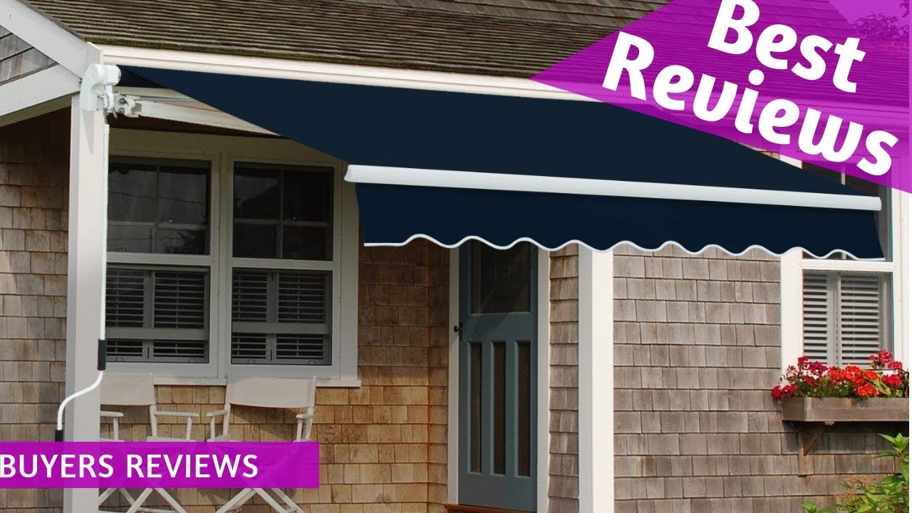 Best Diensweek Patio Awning Retractable Manual Commercial ...