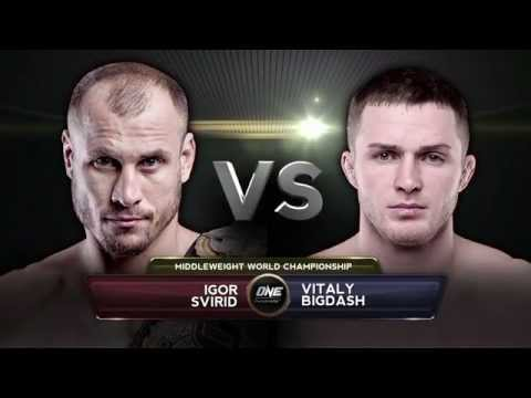 FULL FIGHT: ONE Middleweight World Championship Igor Svirid vs. Vitaly Bigdash (HD)