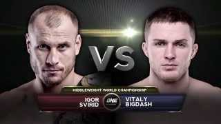 FULL FIGHT: ONE Middleweight World Championship Igor Svirid vs. Vitaly Bigdash (HD) thumbnail