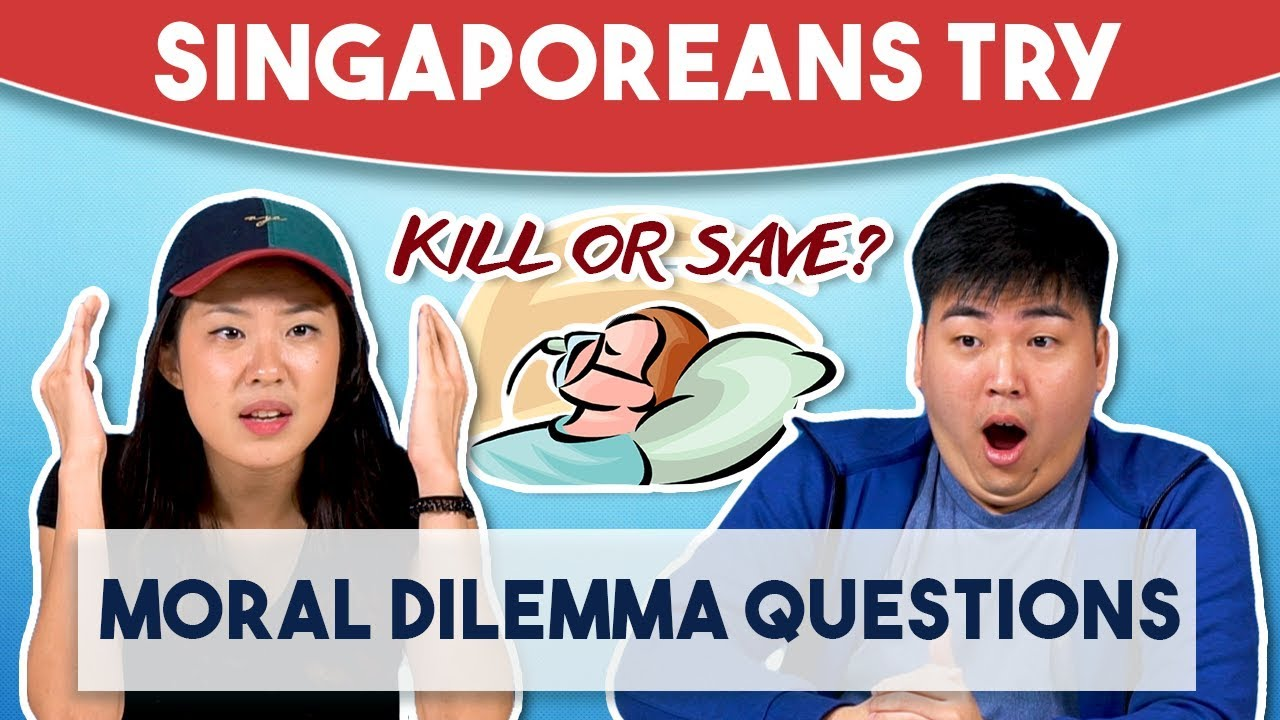 Singaporeans Try: Moral Dilemma Questions