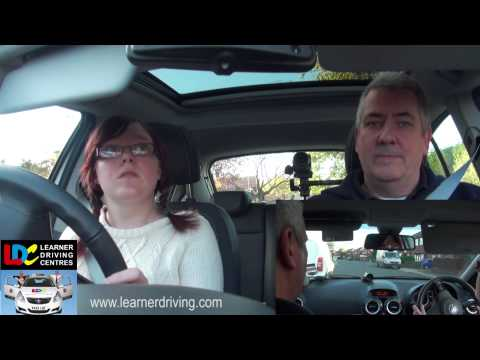 Nikki's 7th driving lesson - 9 Roundabouts