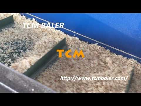 TCM-HB wood shaving baler sawdust corn cob bagging baler